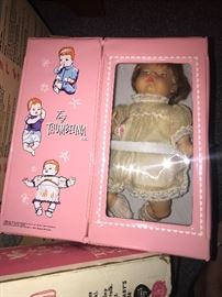 Vintage Thumbelina doll