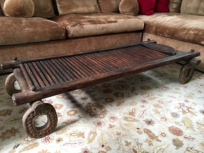 Antique Bamoun Bed from Cameroon