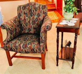 Beautiful upholstered side chair