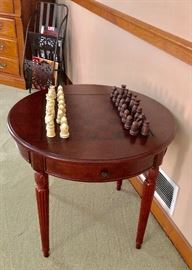 Beautiful chess table