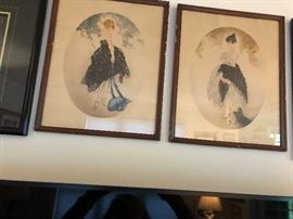 Louis Icart original paintings which MAY be for sale