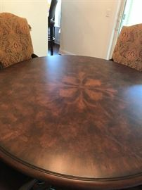 very large and heavy pedestal table