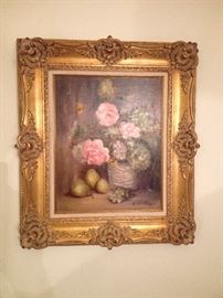 Oil with fabulous frame