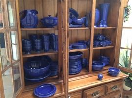 Blue Fiesta Ware Collection