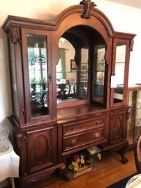 18th century style unique china cabinet