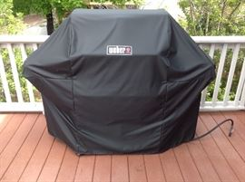 Weber Grill and Cover