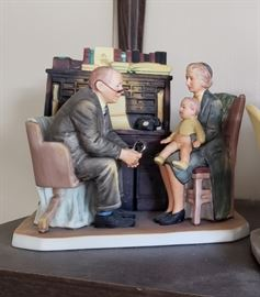 Norman Rockwell Collectible Figurines