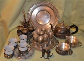 Some of the Sterling and Silverplate