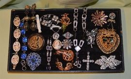 SOME of the costume jewelry