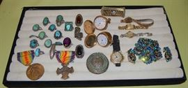 Turquoise, Watches, SOME of the jewelry