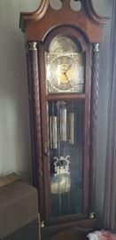 Smaller scale grandfather clock