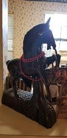 Teak Horse