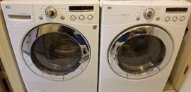Newer model washer and dryer