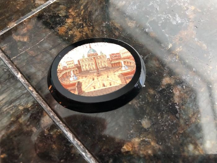 Micro mosaic of the Vatican