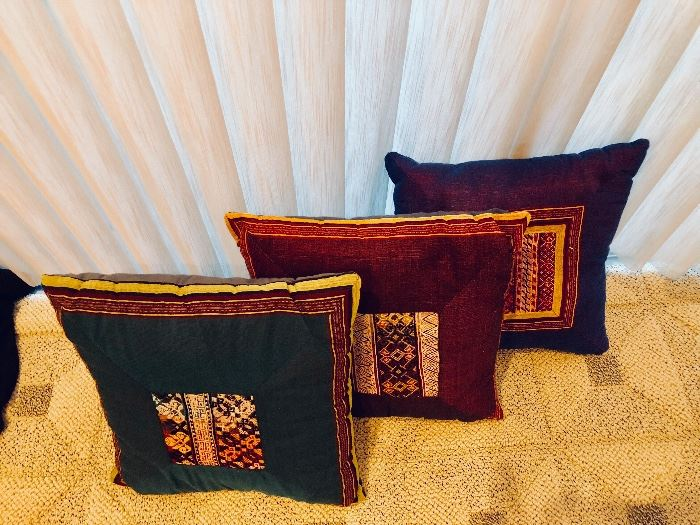Hand crafted pillows