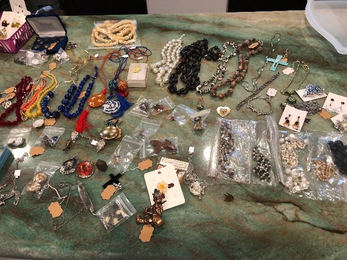 Just a little of the jewelry offered