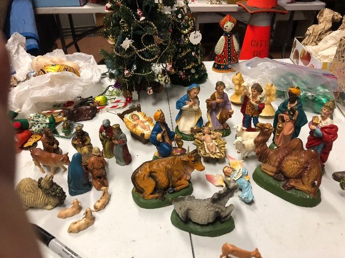 Two sets of nativities