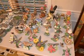 Lots of Lenox Birds and Animals