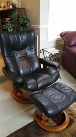 Ekornes Stressless chair and footstool, made in Norway - truly a must have....it's on my bucket list