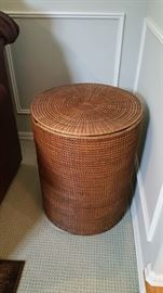 huge basket - great for storage and as a table!