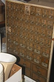 ANTIQUES POST OFFICE MAIL SLOTS