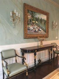 Karges Louis XVI Regency Console Table