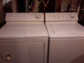 MAYTAG washer and dryer in excellent condition dryer is GAS