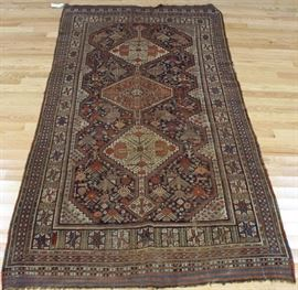 Antique and Finely Hand Woven Carpet