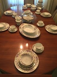 Noritake china.