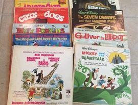 Disney vinyl albums