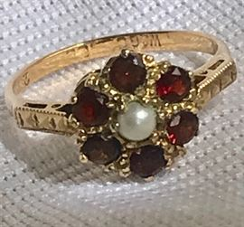 Vintage Gold, Ruby Ring