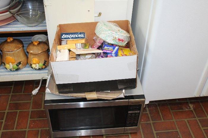Microwave works!