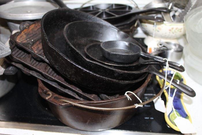 Cast Iron Pieces