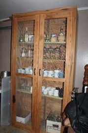 Neat Farmhouse Pantry/Storage Cabinet