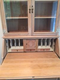 Unique antique secretary (inside)