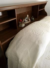 Vintage Queen Size Bed...Also A MidMod Full Size Too!...