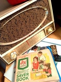Cool Radio...Hmmmm...I Wonder If They Bought It With The Green Stamps?...