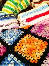 A Lifetime of Linens and Handmade Quilts...