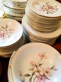 China?...Of Course!...This set Is A beauty...With All The Pads and Storage Bags...