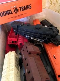 and...A Few Lionel Trains...Two Engines...
