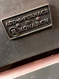 Warm It Up...With This Monarch Wood Stove/Furnace...