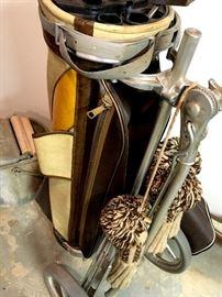 Vintage Golf Clubs...