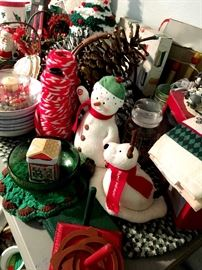 Holiday items...