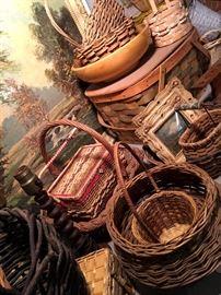 Tisket A Tasket...We Have A Lot Of Baskets!...