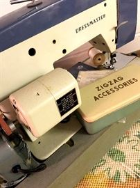 AND A Dressmaker Sewing Machine...But I think You Can Sew other Things With It Besides Dresses...