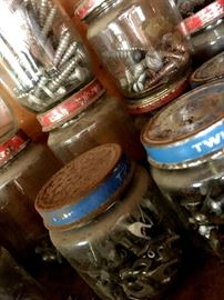 Of Couse We Have Jars of Treasures...It's That Kind of Garage!...