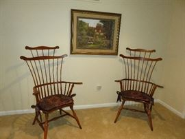 Antique chairs from the 1700's