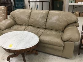 Large and comfortable sofa