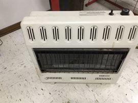 Nearly new heater