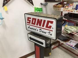 "Vintage ""Sonic"" sign"